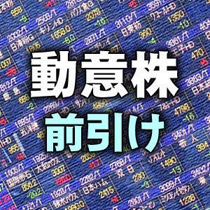 <動意株・23...